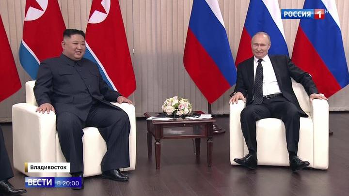 Путин поделился впечатлениями от первой встречи с Ким Чен Ыном