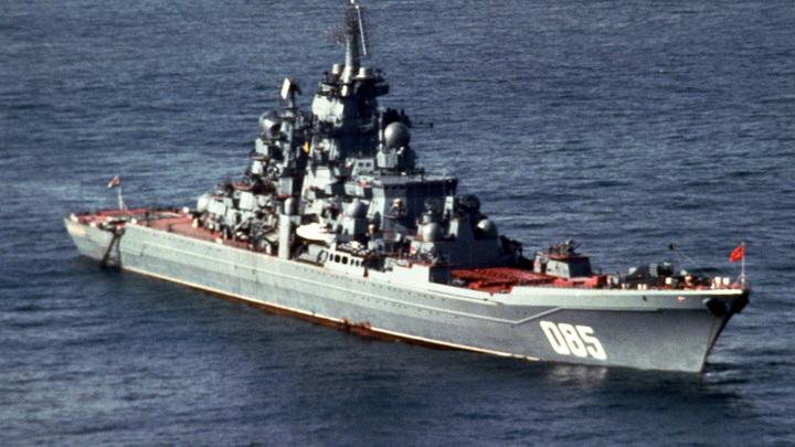 """Атомный крейсер """"Адмирал Нахимов"""" вернется после модернизации в состав ВМФ РФ в конце 2022 года"""
