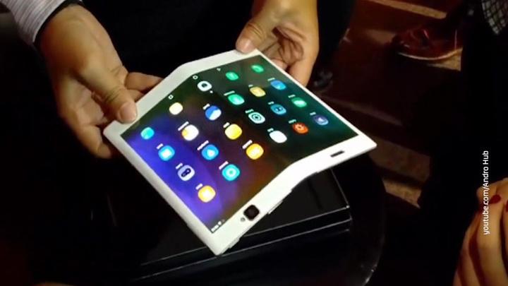 Вести.net: Lenovo представила прототип компьютера с гибким экраном