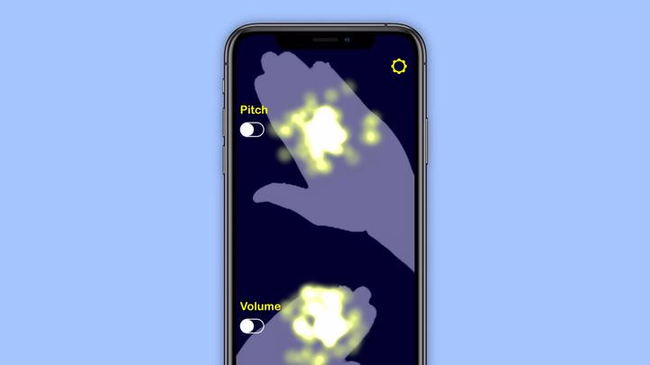 Приложение AirSynth превращает iPhone с Face ID в терменвокс