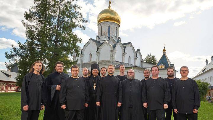Мужской хор Саввино-Сторожевского монастыря. Автор фото: Александр Бородейко