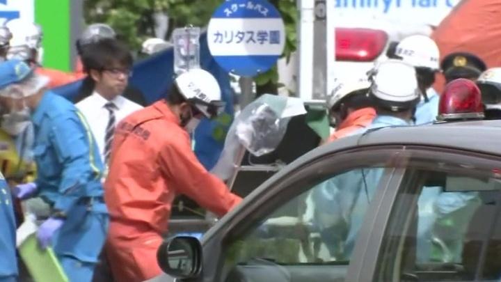 Резня в Кавасаки: водитель школьного автобуса пытался остановить маньяка photo