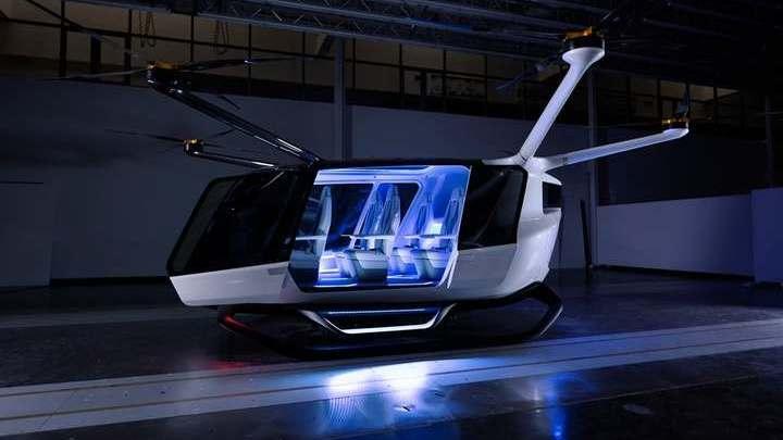 Транспортное средство может проводить в воздухе до десяти часов.