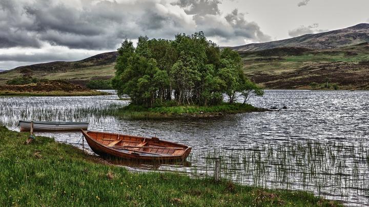 В Татарстане нашли лодку с мертвым рыбаком