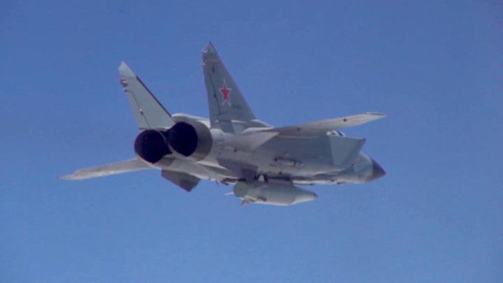 Российский МиГ-31 сопроводил норвежский самолет над Баренцевым морем