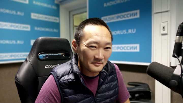 """Зоригто Намсараев в студии """"Радио России"""""""