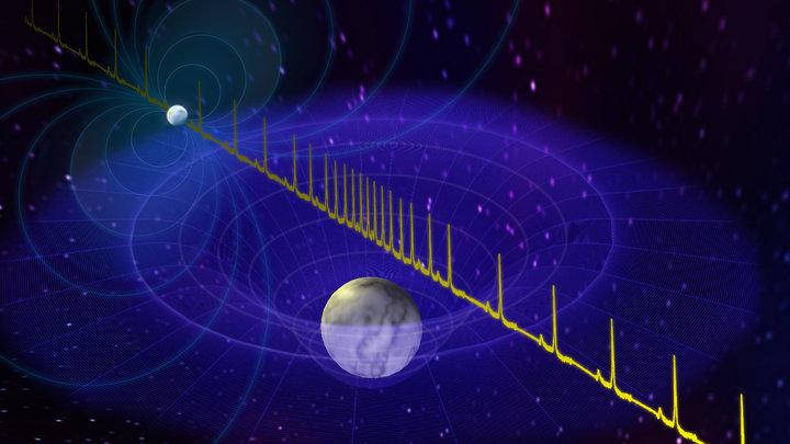 Радиоволны, испускаемые нейтронной звездой, помогли измерить её массу.