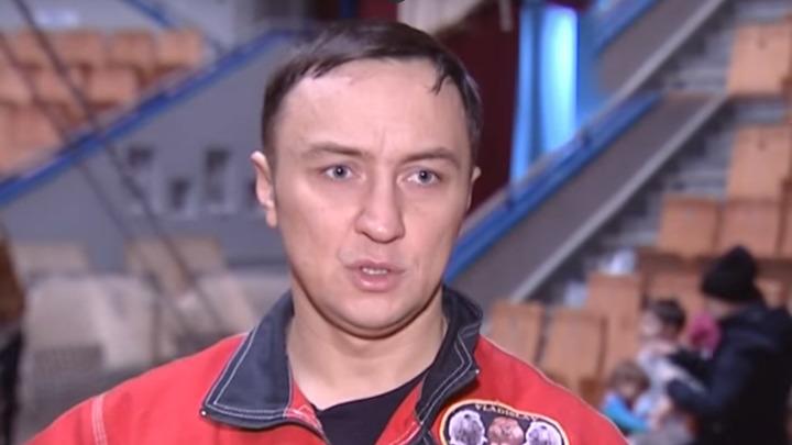 """Дрессировщик Владислав Гончаров (фото ТК """"Россия 1"""")"""