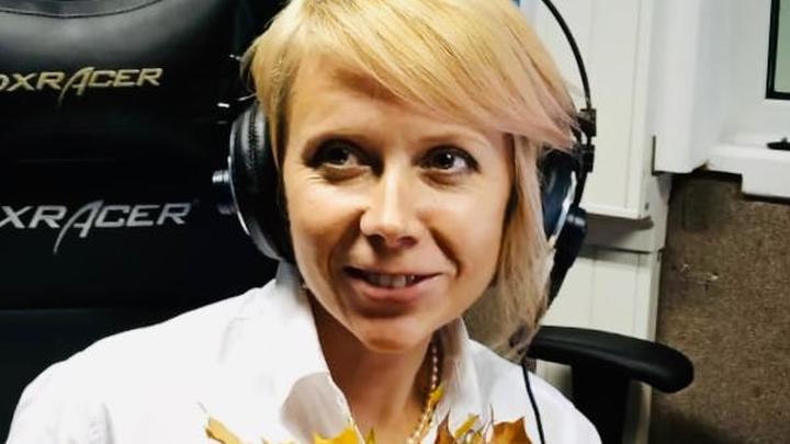"""Наталия Петровна Таньшина в студии """"Радио России"""""""