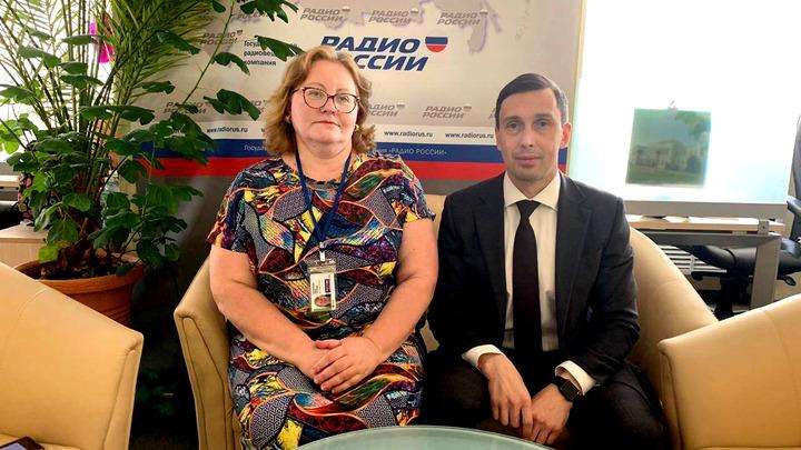 Ольга Копылова и Дмитрий Курдюмов