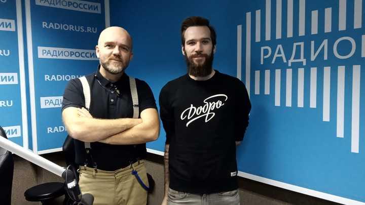 """Иван Шунин в студии """"Радио России"""""""