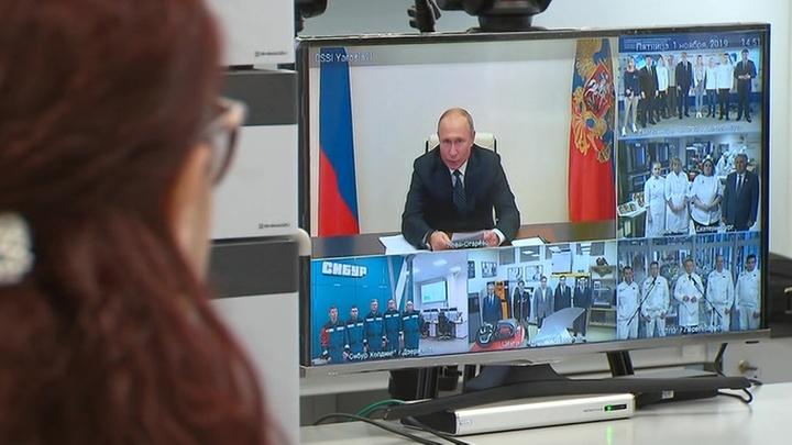 Путин пообщался с участниками WorldSkills