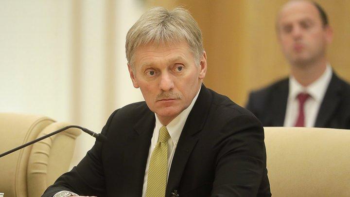 Песков рассказал, каким будет ответ на санкции ЕС и США
