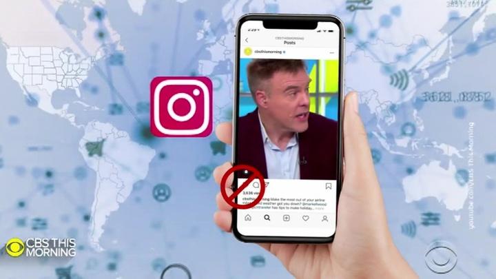 Instagram перестает показывать лайки под чужими постами
