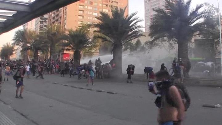 В Чили не утихают протесты