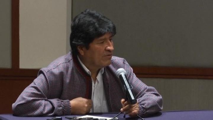 Бывший президент Боливии Моралес хочет вернуться на родину