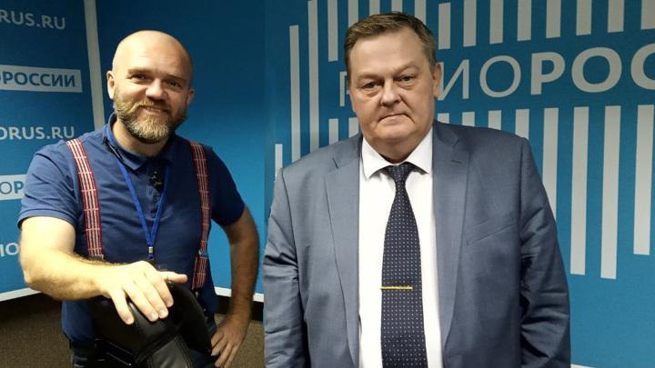 Дмитрий Конаныхин и Евгений Спицын
