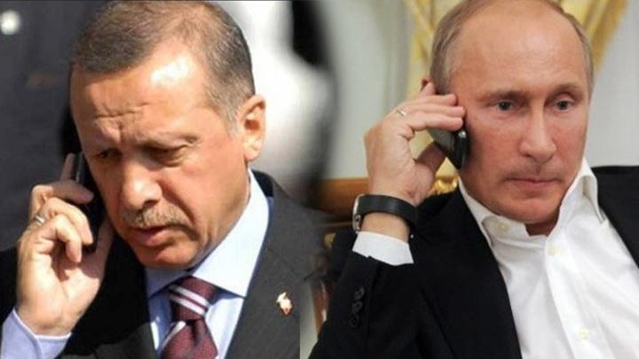 Путин обсудил сегодня по телефону с Эрдоганом борьбу с пандемией