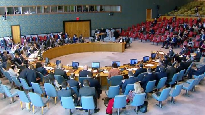 Россия и Китай заблокировали решение по Сирии в ООН