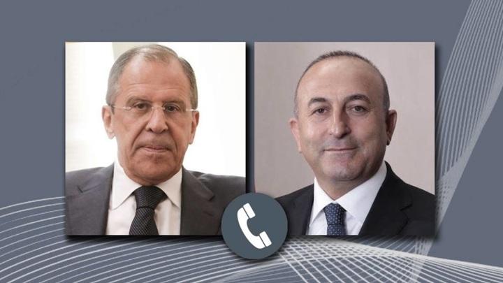 Лавров и Чавушоглу провели телефонные переговоры