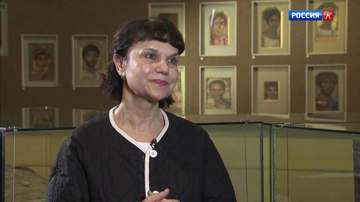 Гость в студии – директор Музея изобразительных искусств имени Пушкина Марина Лошак