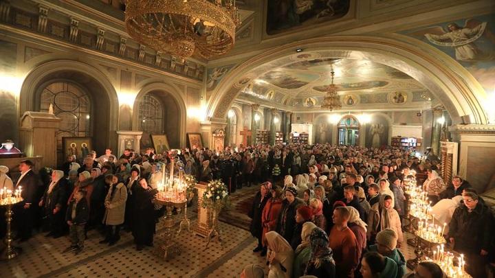 Рождественские богослужения в России прошли без нарушений общественного порядка
