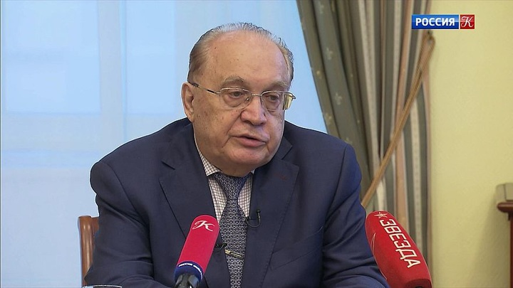 Виктор Садовничий провёл встречу с журналистами
