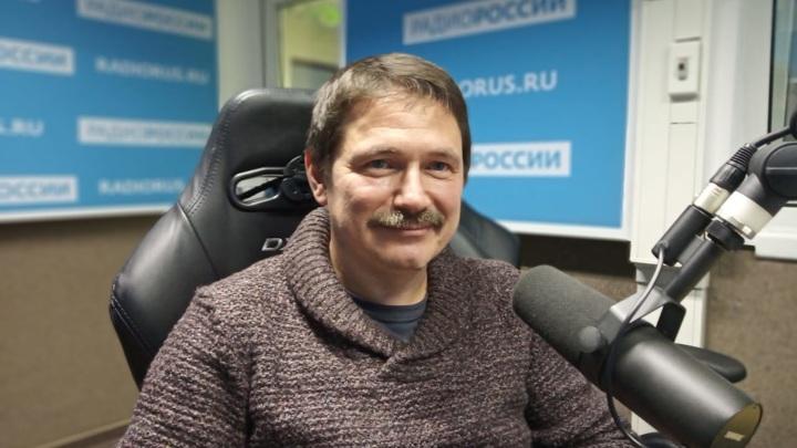"""Рамиз Алиев в студии """"Радио России"""""""