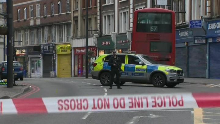 В Лондоне захвачены заложники