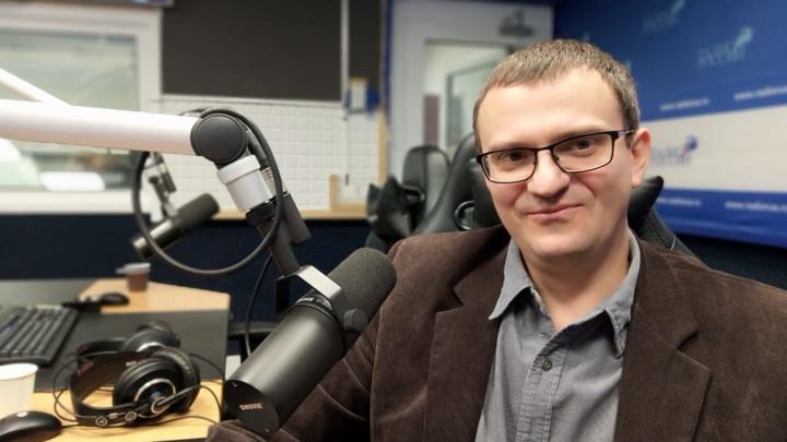 """Игорь Дьяченко в студии """"Радио России"""""""