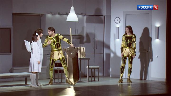 Втеатре наМалой Бронной показали футуристическую сказку «Лунная масленица»