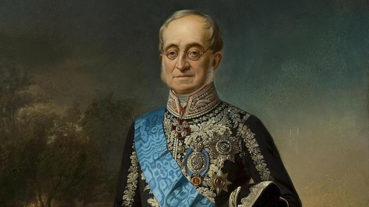 Ботман - Портрет графа Карла Васильевича Нессельроде (1860-1870)