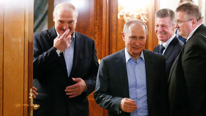 Лукашенко рассказал, что обсуждал на переговорах с Путиным