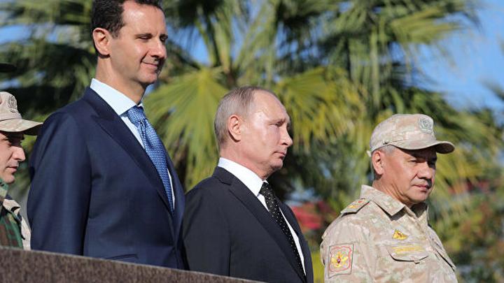 Путин сам решил ехать в Дамаск год назад