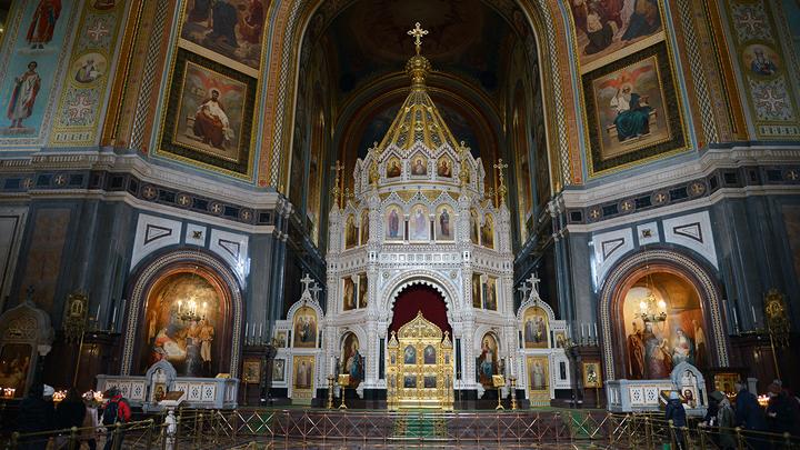 Рождество по билетам: стал известен регламент службы в храме Христа Спасителя