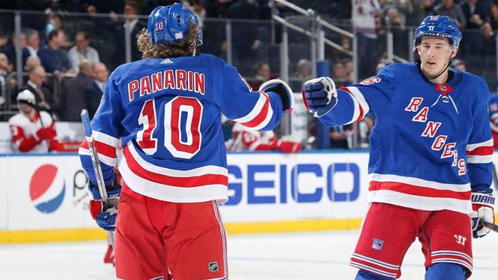 """НХЛ. """"Рейнджерс"""" Панарина вытащил игру против """"Оттавы"""""""