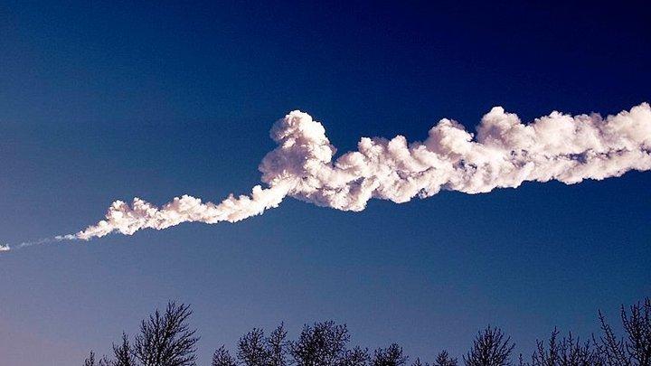 """Взорвавшийся 8 лет назад метеорит """"Челябинск"""" оказался суперболидом"""