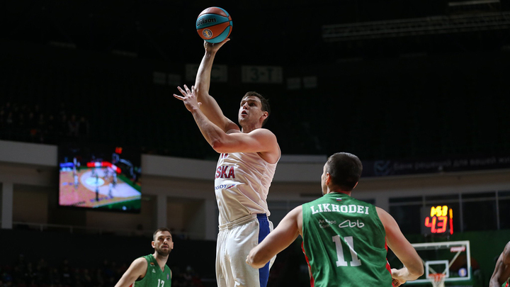 ЦСКА выиграл второй матч финала Единой лиги ВТБ