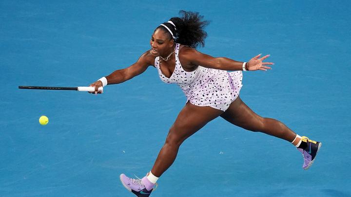 Серена Уильямс вышла во второй круг турнира в Италии