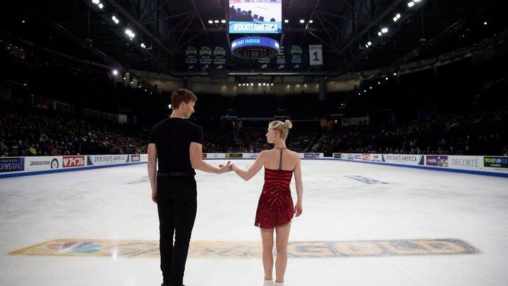 Тарасова и Морозов выиграли короткую программу на Гран-при Лас-Вегаса