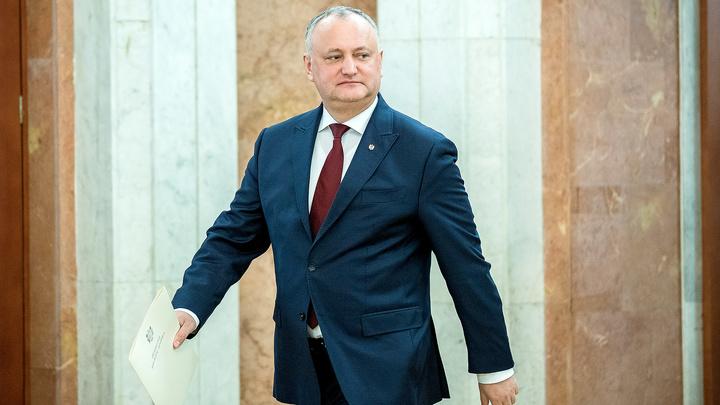 Интерпол удивил президента Молдавии