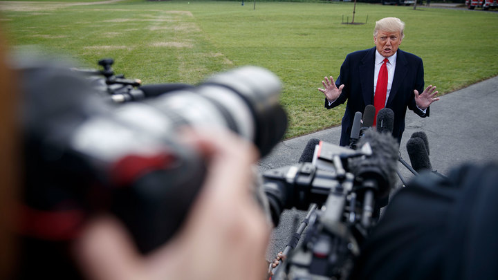 Трамп заявил, что в США больше нет свободной прессы