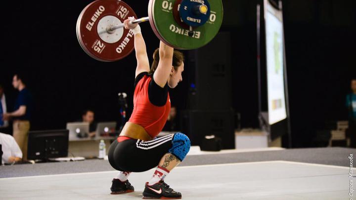 Тяжелая атлетика. Соболь завоевала серебро чемпионата Европы