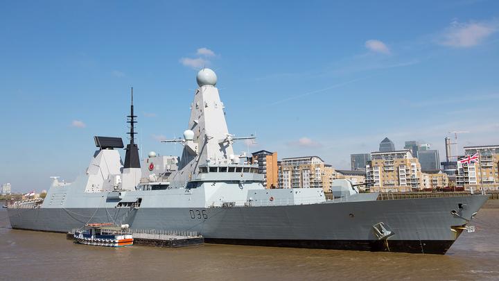 МИД России осудил действия Британии в ситуации с эсминцем в Черном море