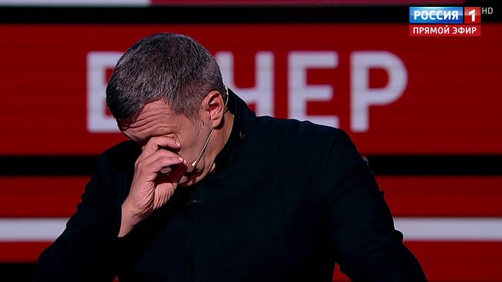 История Симоньян про детей Беслана довела Соловьева до слез