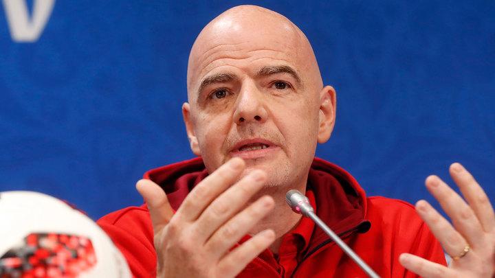 Глава ФИФА назвал плюсы проведения чемпионата мира каждые два года