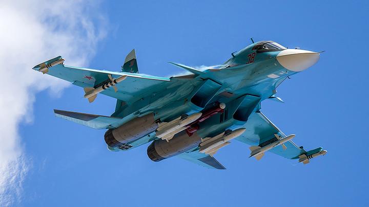 Бомбардировщики Су-34 оснастили новыми комплексами разведки