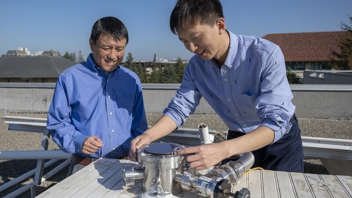 Солнечные панели будут производить электроэнергию и отправлять избыточное тепло в космос
