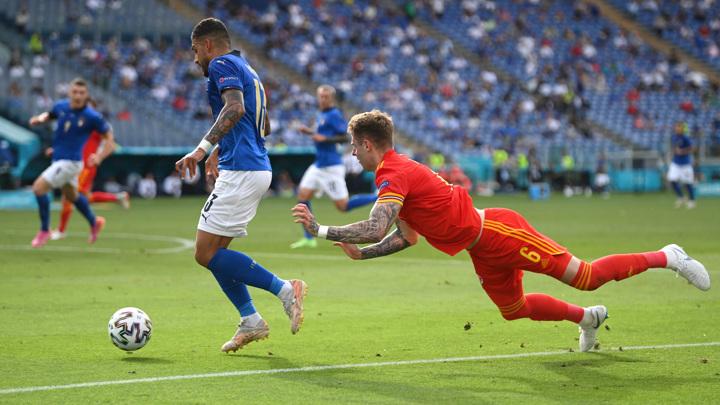 """Евро-2020. Италия – Уэльс – 1:0. Матч группы """"А"""""""