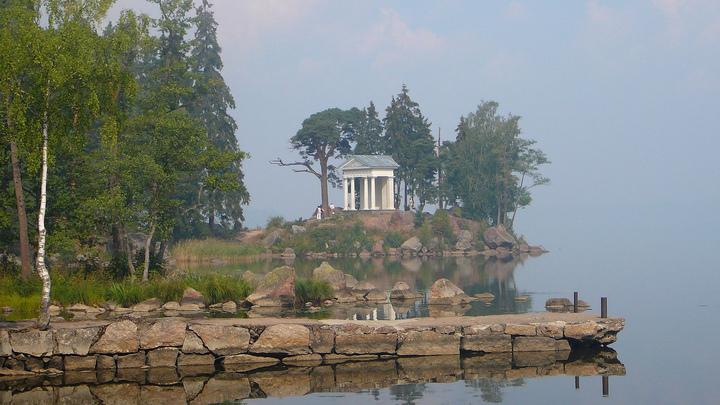 Закрытый на реконструкцию сад парка Монрепо в Выборге откроют на один день